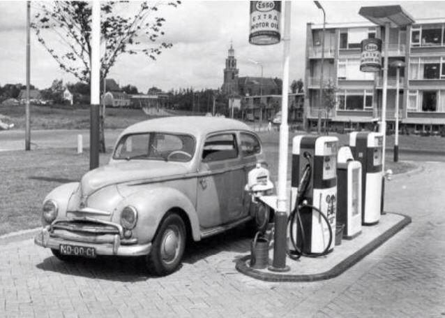 Tankstation Oranjestraat Blijswijkseweg