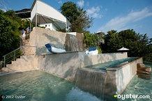 pool at the Gaia Hotel in Costa Rica