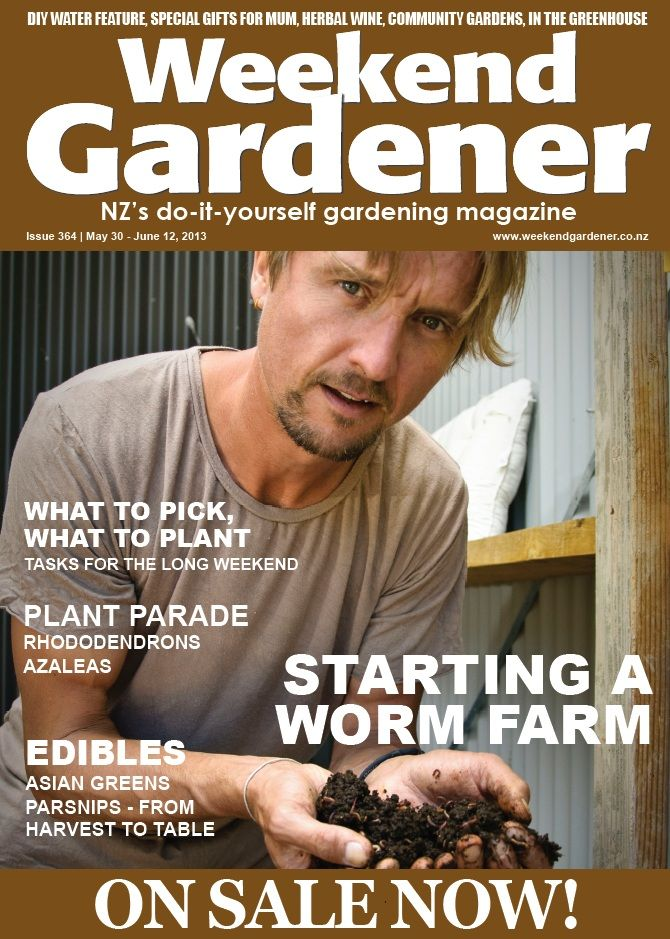 364 we get our hands dirty with Ben Elms who explains how to start a worm farm. There are tips on growing rhododendrons, and we show you how to make an indoor herb tower. Also, we wage war on weeds with Andrew Steens who assesses different weed whackers on the market.