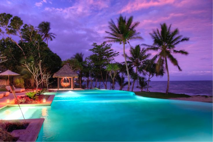 The sunsets here are quite unlike any other you've ever experienced at Nanuku Auberge Resort Fiji #Fiji #Auberge