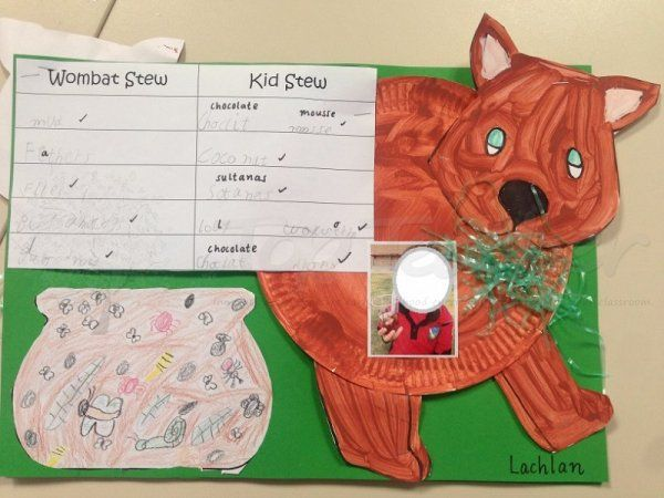 Edible Wombat Stew and craft | Top Teacher - Innovative and creative early childhood curriculum resources for your classroom