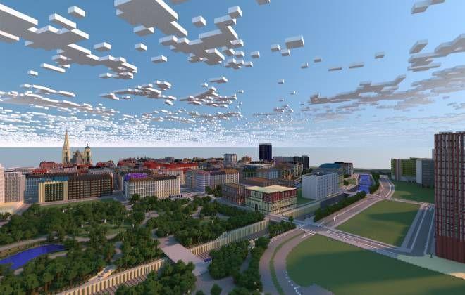 Olhar Digital: Fãs constroem a cidade de Viena em tamanho real no Minecraft