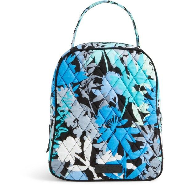 Vera Bradley Lunch Bunch Bag in Camofloral ($34) ❤ liked on Polyvore featuring home, kitchen & dining, food storage containers, camofloral, lunch sack, brown lunch bags, lunch bag, vera bradley lunch bag and vera bradley bags