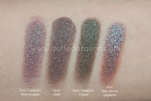 Dotted Around: Neve Cosmetics Duochrome palette | swatches, confronti, impressioni