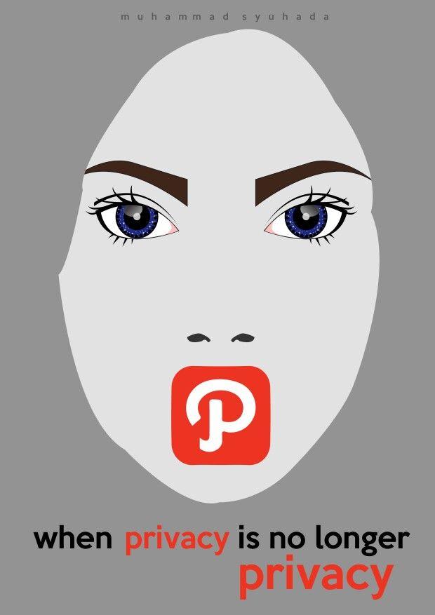 When privacy is no longer privacy #socialmedia #privacy #girl #path #facebook #poster