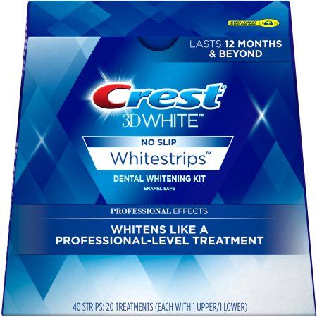 Избелващи ленти Crest 3D LUXE Professional effects | white-bg.com