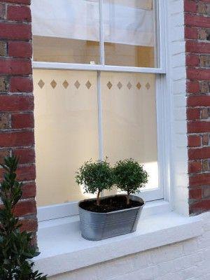 Brume window film, alternative to shutters? Diamond Row B036