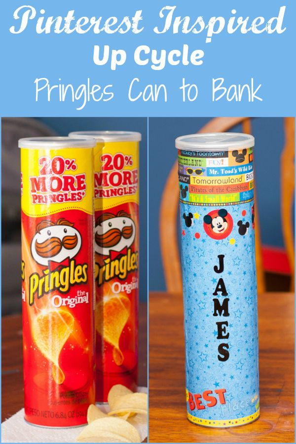 Pringles Can to Bank - Pinterest Inspired Up Cycle project http://www.jenniferpwilliams.com/2013/07/pinterest-inspired-up-cycle.html