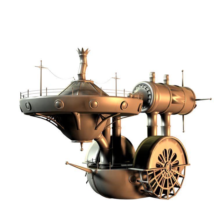 Steam-powered Enterprise?