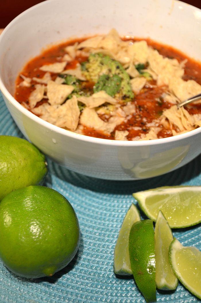 Amazing Vegan Tortilla Soup
