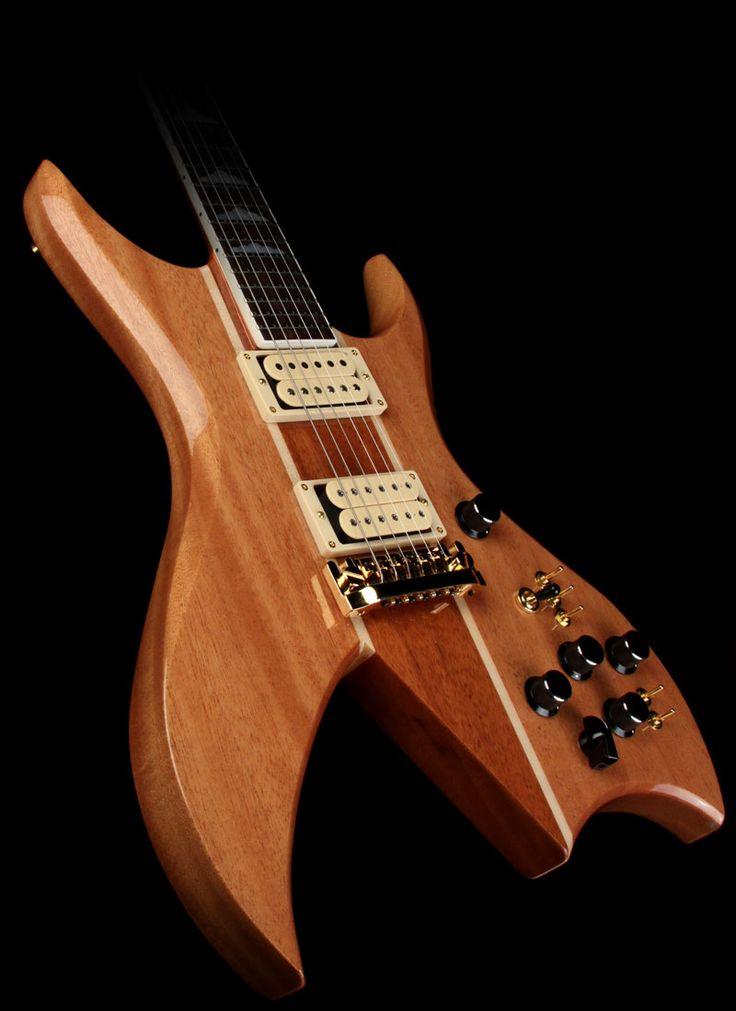 B.C. Rich USA Handcrafted Bich Supreme Electric Guitar Natural