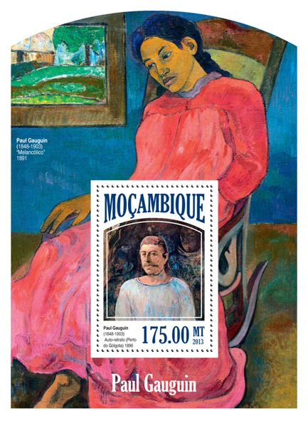 MOZ 13518 bPaul Gauguin, (Self-portrait (Near Golgotha)).