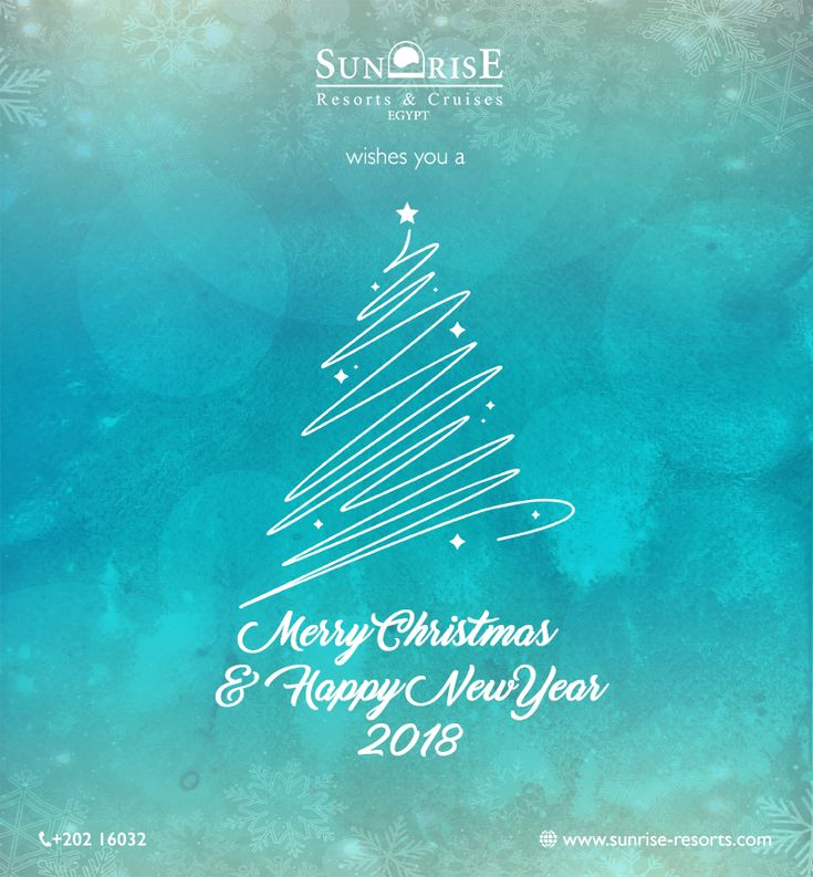 SUNRISE Resorts and Cruises wishes you and your loved ones a Merry Christmas & a Happy New Year. #sunriseresortsandcruises #welcomehome #merrychristmas #NYE