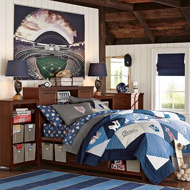 17 best images about teen boy bedroom on pinterest for Baseball scoreboard wall mural