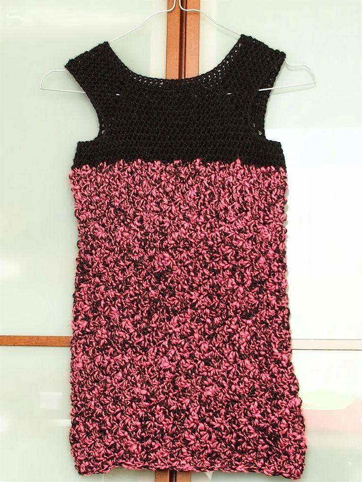 Πλεκτό φόρεμα με αχιβάδες / Crochet shell dress