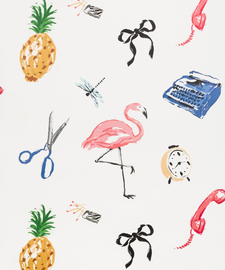Kate spade new york is bringing major style to your walls for Quirky wallpaper