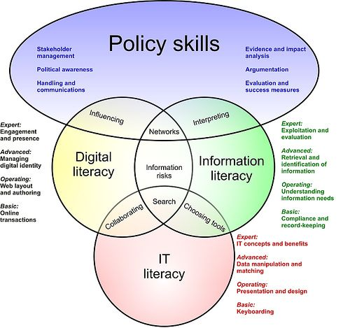 relationship between information technology and literacy