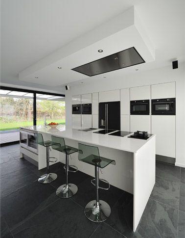 Keuken nieuwbouw villa