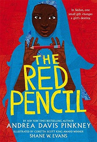 The Red Pencil by Andrea Davis Pinkey