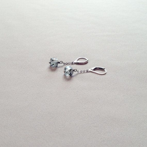 Crystal cubes earrings by LYNGjewelry on Etsy