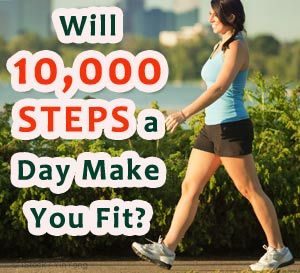 walking 10000 steps benefits