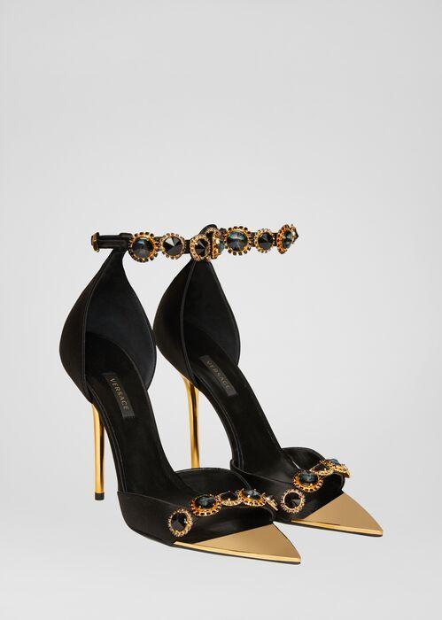 Sandálias de cetim Irina para mulheres | Loja Online dos EUA   – High Heels und Schuhe