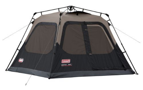 Coleman 4-Person Instant Tent - http://www.campingandsleepingbags.com/coleman-4-person-instant-tent/