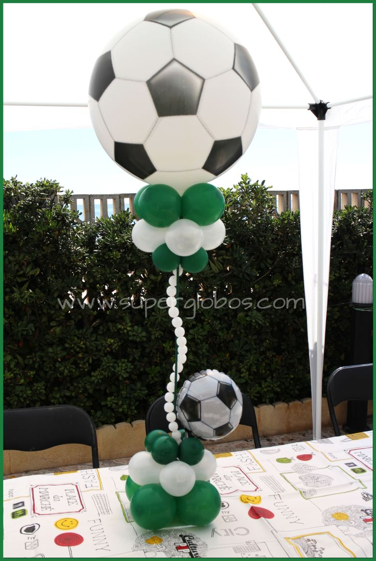SOCCER BALL CENTERPIECE