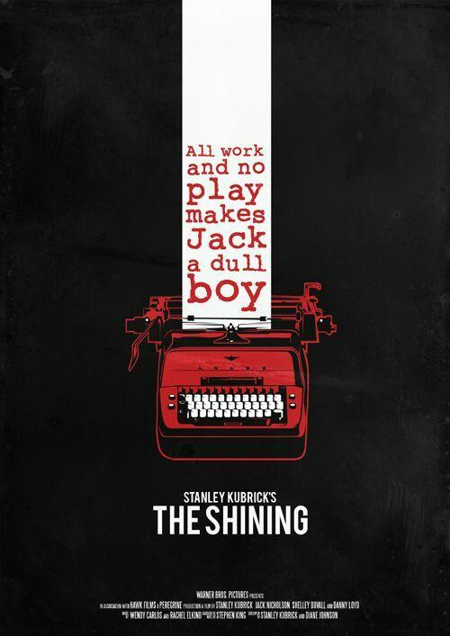 The Shining / O Iluminado #filme #movie #cinema #poster #theshining #stanleykubrick #stephenking
