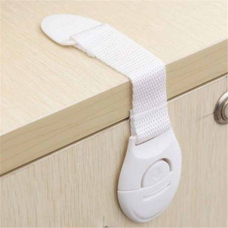 Neue Baby Kinder Schranktür Schublade Kühlschrank Sicherheit Tuch gurtschloss