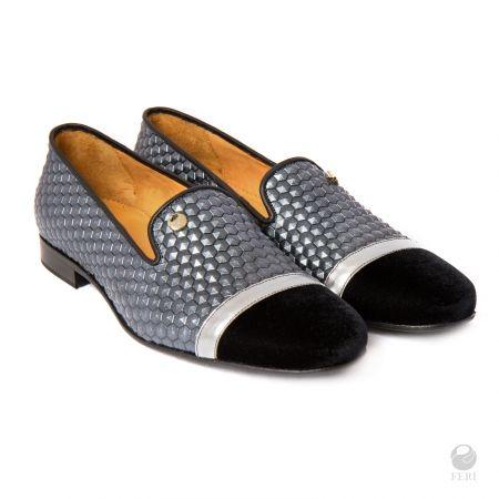 FERI - Brendan Shoes - Navy Blue