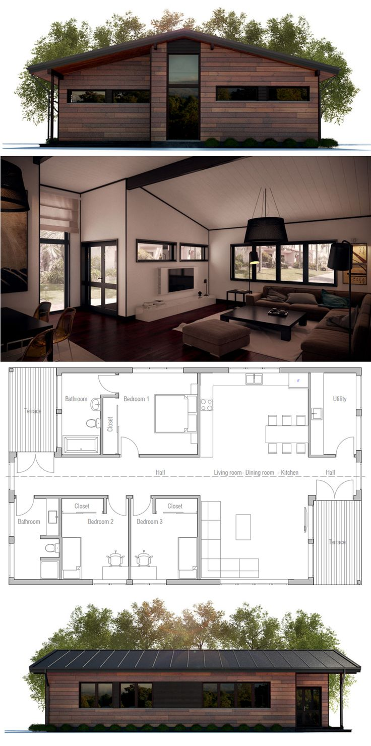 Best 25+ Small Home Plans Ideas On Pinterest