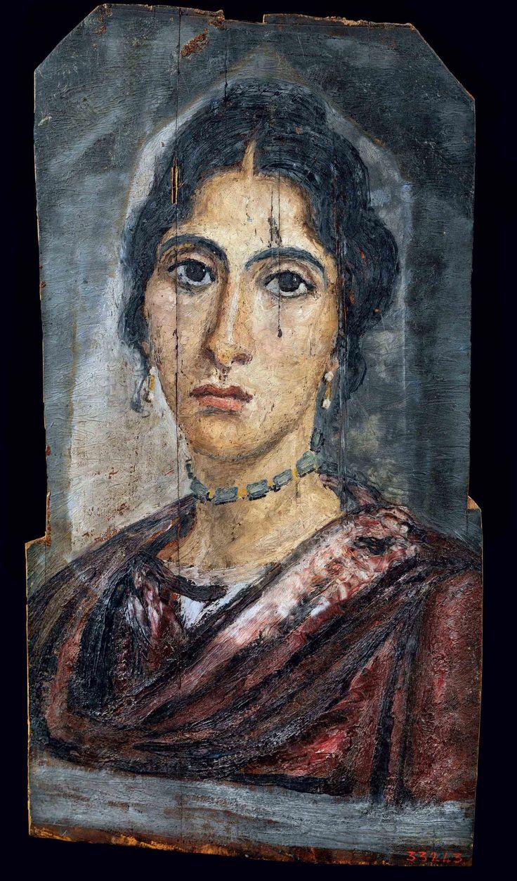 Découvrez les portraits du Fayoum, l'art funéraire ...