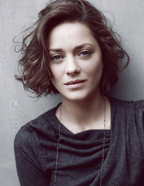 Marion Cotillard. Her face reminds me of my granny...                                                                                                                                                                                 More