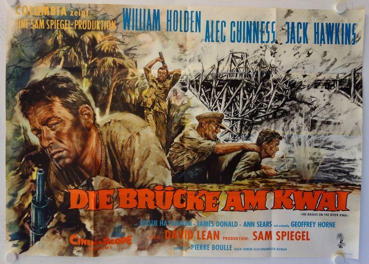 Die Brücke am Kwai originales deutsches A0-Filmplakat - Galerie filmposter.net