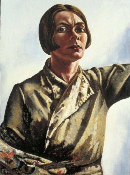 Dutch painter Charley Toorop (1891 –1955)