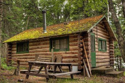 Baue eine einfache Blockhütte – DIY – #Baue #Bloc…