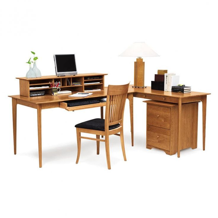 Sarah Home Office Set available at Vermont Woods Studios. Computer DesksOffice  FurnitureWooden ...