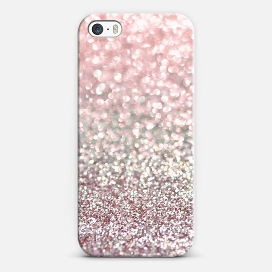 Girly Pink Snowfall iPhone & iPod case by Lisa Argyropoulos | Casetagram