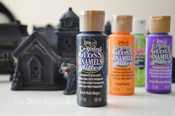 The 36th AVENUE | DIY Dollar Store Halloween Village | The 36th AVENUE