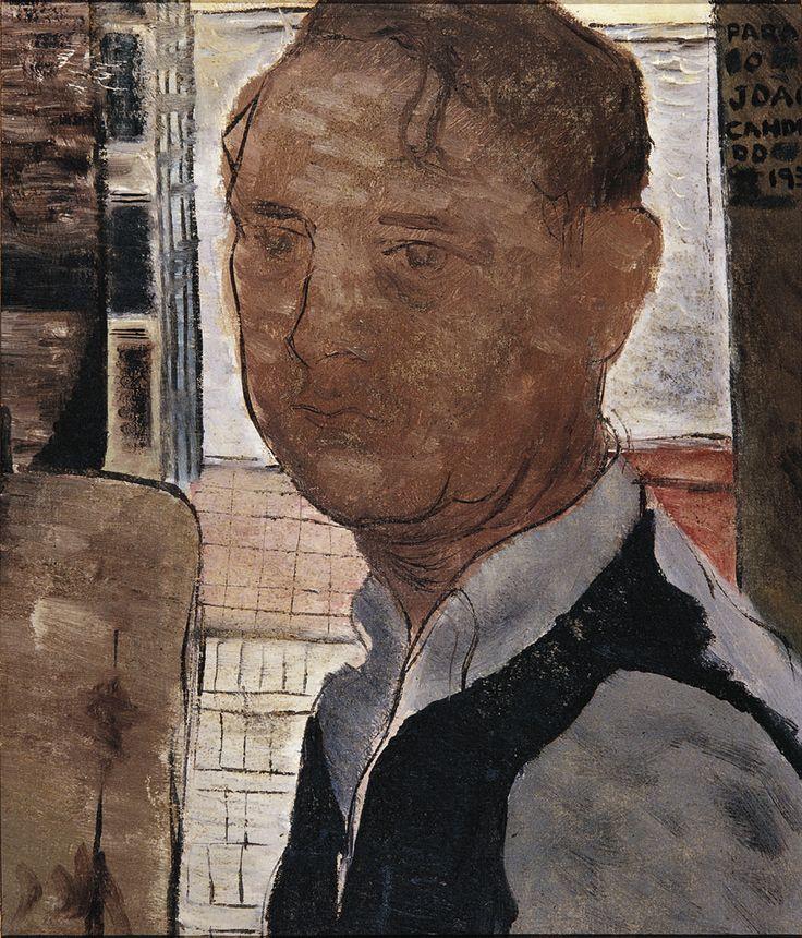 Self Portrait, 1939 by Candido Portinari (Brazilian 1903-1962)