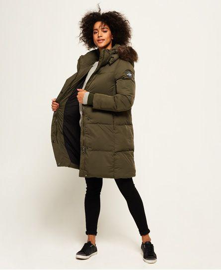 Superdry Cocoon Parka Jacket Green   Coats   Pinterest   Jackets ... eb86fcc02e