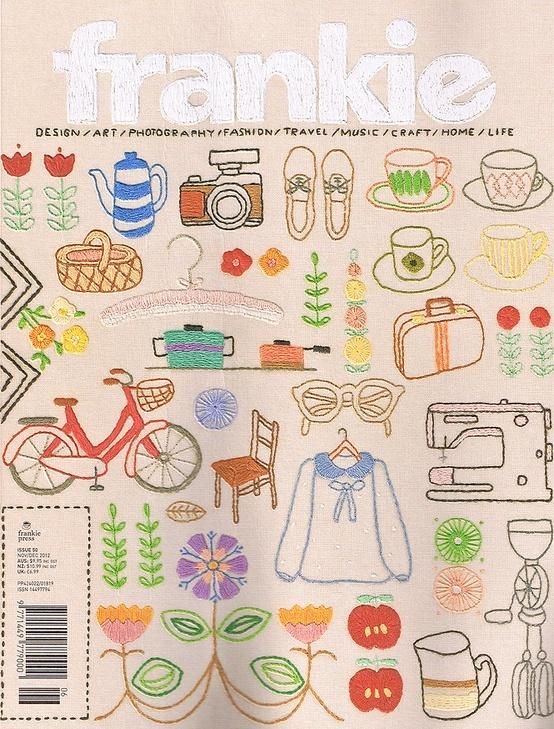 El Costurero: De libros: Frankie magazine
