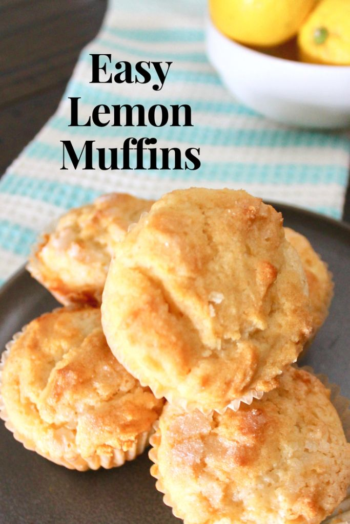 Easy Lemon Breakfast Muffins