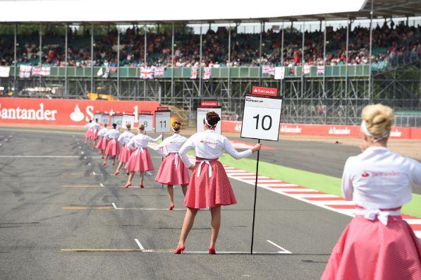 2014 British Grand Prix Grid Girls 1