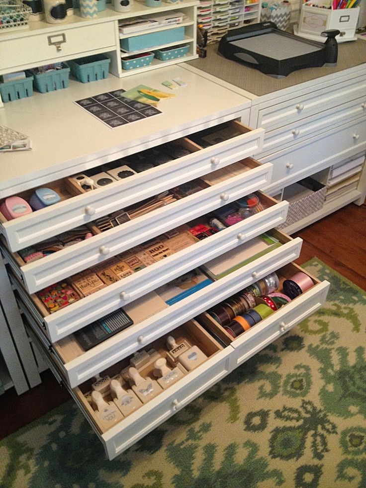 Craft Room Organization, Martha Stewart Furniture, Ikea Part 63