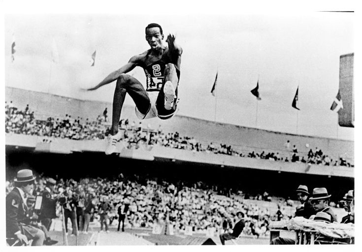 Sometimes someone does something absolutely unbelievable. Bob Beamon smashing the world record long jump, Mexico 1968.