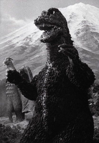 Rodan and Godzilla in Destroy All Monsters (1968)