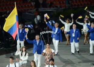 COLOMBIA in the olympics