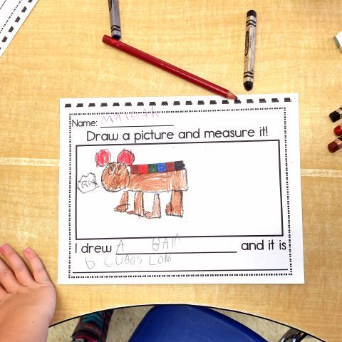 As we continue to work on our math skills in our kindergarten classroom, I have noticed that our students love to use hands-on materials when they are learning new concepts. Non-standard measuremen… #mathgames